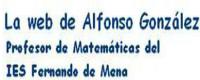 La Web de Alfonso González - Matemáticas